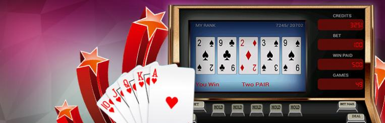 Video Poker im Online Casino spielen